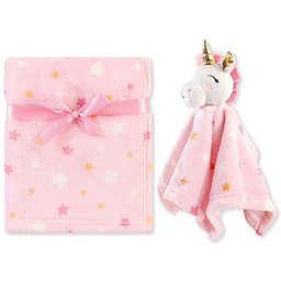 Luvable Friends® Unicorn Plush Security Blanket Set