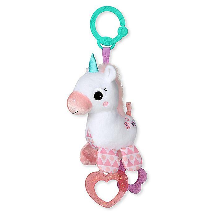 Alternate image 1 for Bright Starts™ Sparkle & Shine Unicorn On-the-Go Toy