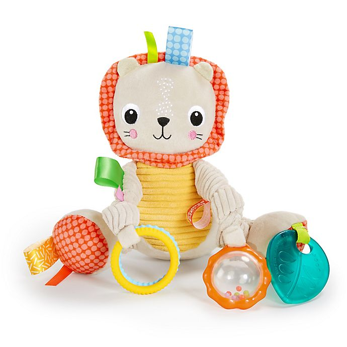 Alternate image 1 for Bright Starts™ Bunch-O-Fun Lion Plush Activity Toy
