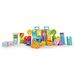 Bright Starts™ Set-the-Scene Sesame Street™ Wooden Storytelling Blocks