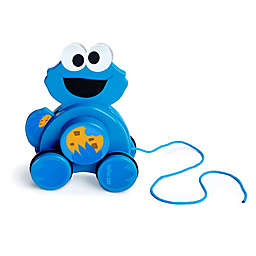 Bright Starts™ Snack & Stroll Cookie Monster™ Wooden Pull Toy