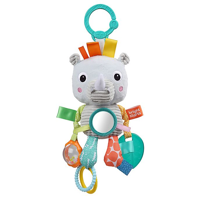 Alternate image 1 for Bright Starts™ Playful Pals™ Rhino Activity Toy
