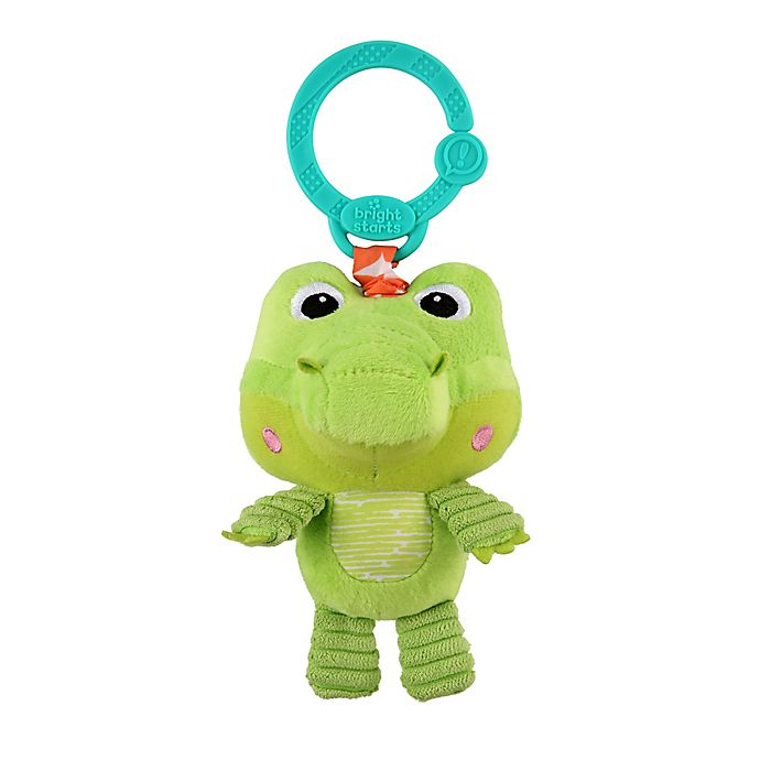 Alternate image 1 for Bright Starts™ Take 'n Shake™ Alligator On-the-Go Toy