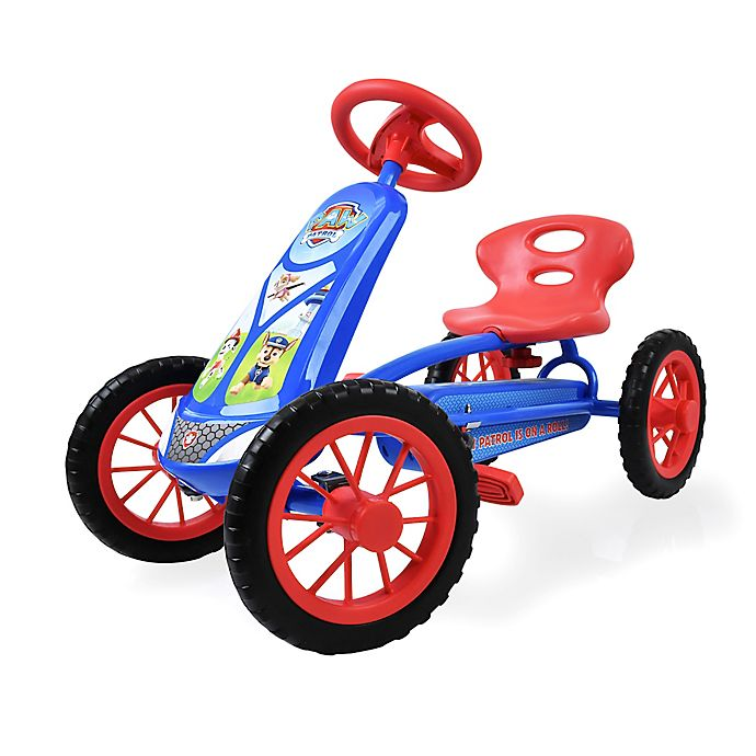 Alternate image 1 for Hauck Paw Patrol Lil'Turbo Ride-On Pedal Go-Kart