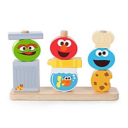Bright Starts™ Mix & Match Sesame Street Friends™ Wooden Stacking Toy