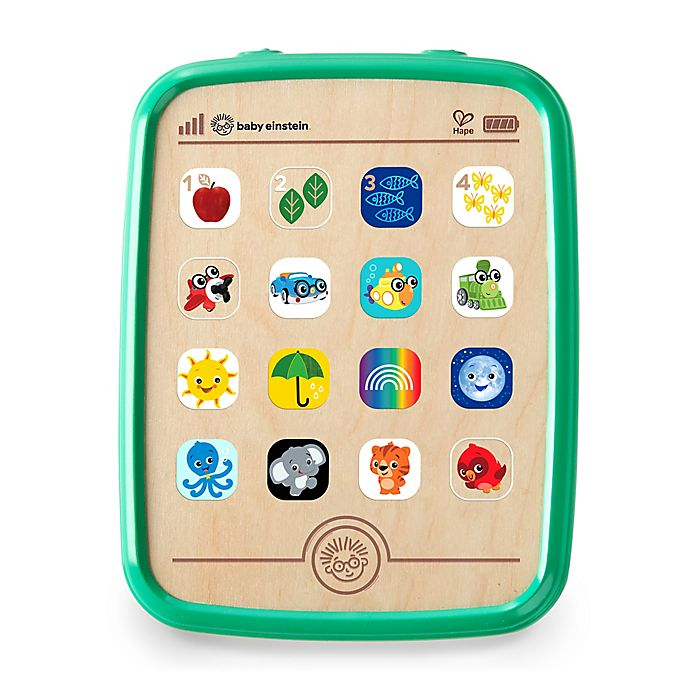 Alternate image 1 for Baby Einstein™ Magic Touch Curiosity Tablet™ Wooden Musical Toy
