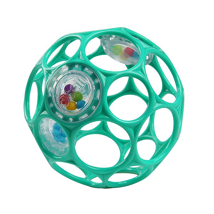 Alternate image 1 for Bright Starts™ Oball Rattle™ Easy-Grasp Toy