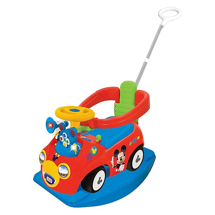 Alternate image 1 for Disney® Mickey Mouse Clubhouse 4-in-1 Activity Ride-On