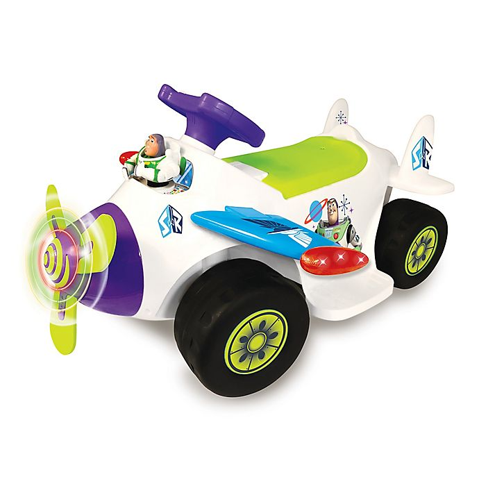 Alternate image 1 for Disney® Toy Story 4 Buzz Lightyear Airplane Activity Ride-On