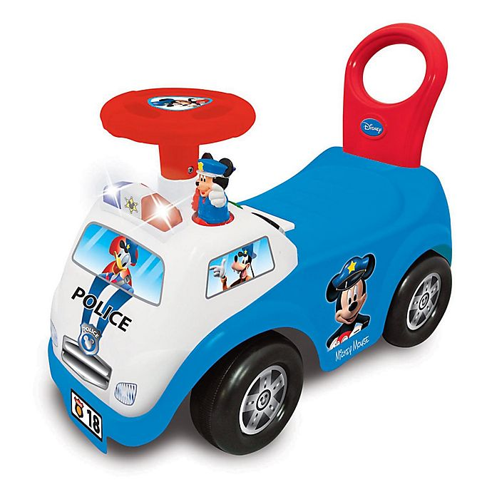 Alternate image 1 for Disney® Mickey Mouse My First Police Car Activity Ride-On