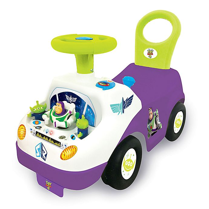 Alternate image 1 for Disney® Toy Story 4 Buzz Lightyear Activity Ride-On
