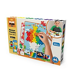 Plus®-Plus BIG 60-Piece Picture Puzzles Basic Color Mix Building Set