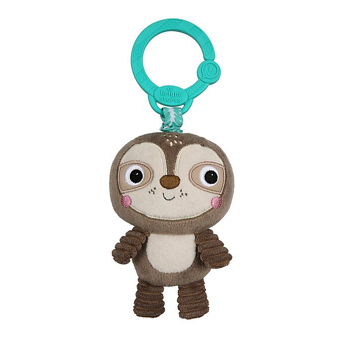 Alternate image 1 for Bright Starts™ Take 'n Shake™ Sloth On-the-Go Toy