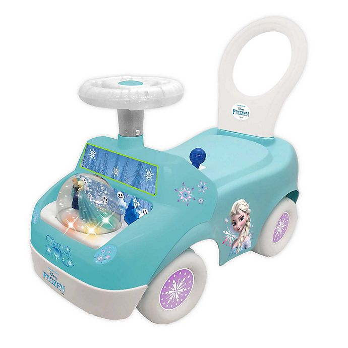 Alternate image 1 for Disney® Frozen Snow Queen Magical Snow Globe Ride-On