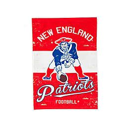 NFL New England Patriots Vintage Garden Flag