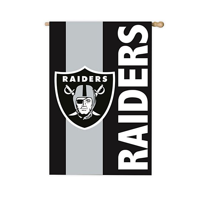 Nfl Las Vegas Raiders Applique House Flag Bed Bath Beyond