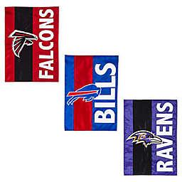 NFL Embellished Applique Garden Flag Collection