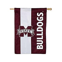 Mississippi State University Applique House Flag