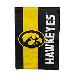 University of Iowa Embellished Applique Garden Flag Collection
