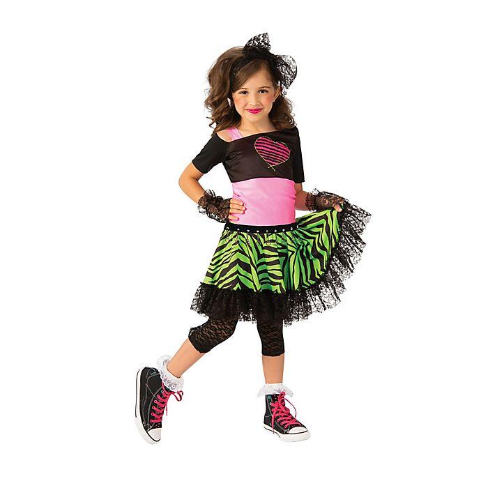 Alternate image 1 for Material Girl 80s Child's Halloween Costume
