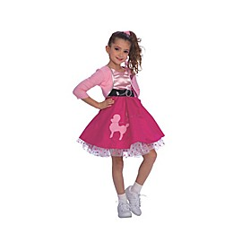 50's Child's Halloween Costume