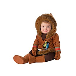 Alaskan Native Halloween Costume in Brown