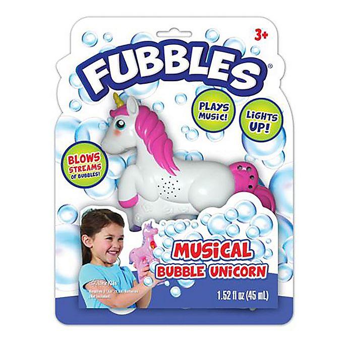 Alternate image 1 for Fubbles Musical Bubble Unicorn