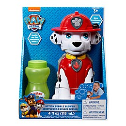 Paw Patrol Best Pup Pals Marshall Action Bubble Blower