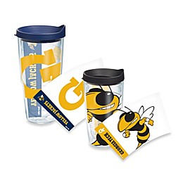 Tervis® Georgia Tech Yellow Jackets Wrap Tumbler with Blue Lid