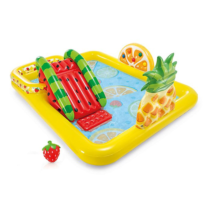 Alternate image 1 for Intex® 9-Piece Fun 'N Fruity Play Center