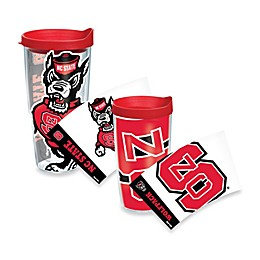 Tervis® North Carolina State University Wolfpack Wrap Tumbler with Red Lid