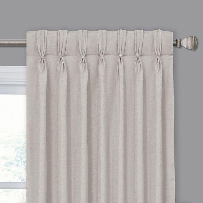 Mariposa Pinch Pleat/Back Tab Window Curtain Panel