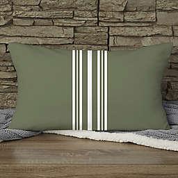 Pattern Pillow Personalized Lumbar Throw Pillow