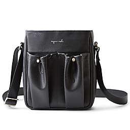 Anjie+Ash Crossbody Parent Diaper Bag in Black