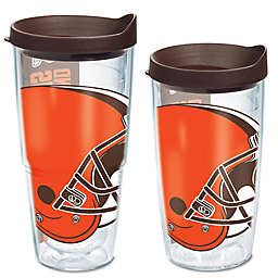 Tervis® Cleveland Browns Wrap Tumbler with Brown Lid