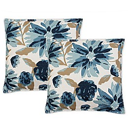 Chadra Floral Square Throw Pillows (Set of 2)