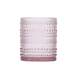 D&V® by Fortessa® Jupiter Double Old Fashioned Glasses in Pink (Set of 6)
