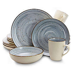 Elama Moon 16-Piece Dinnerware Set