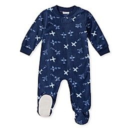 Absorba® Planes Footie in Navy