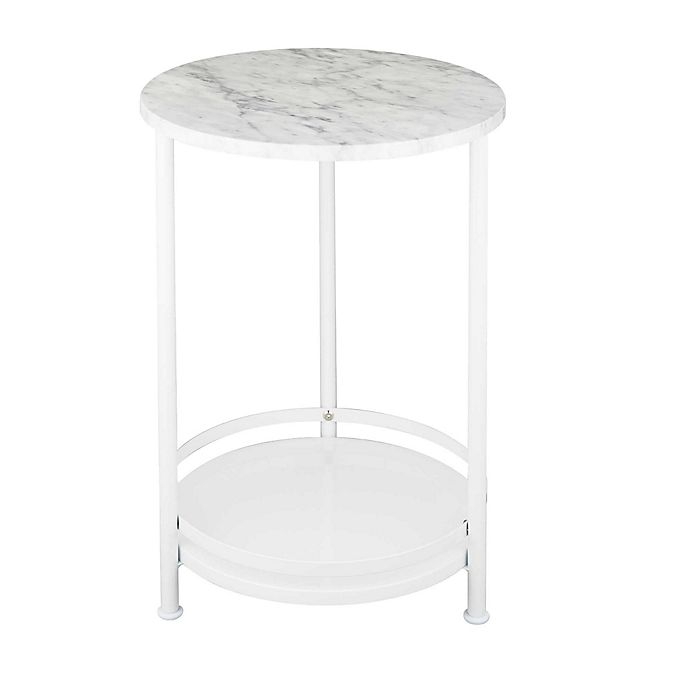 Alternate image 1 for 2-Tier Round Side Table