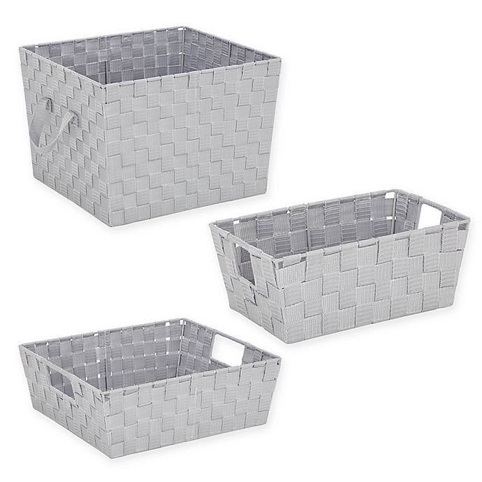 Alternate image 1 for SALT™ Woven Storage Bin Collection