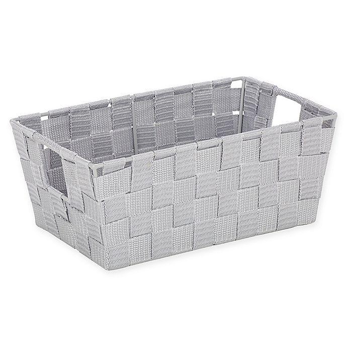 Alternate image 1 for SALT™ Medium Accessory Woven Storage Bin in Heather Grey
