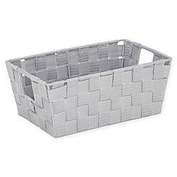 SALT™ Medium Accessory Woven Storage Bin in Heather Grey