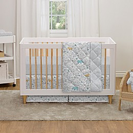 Living Textiles lolli living 4-Piece Safari Crib Bedding Set