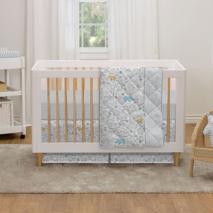 Alternate image 1 for Lolli Living™ by Living Textiles Safari Lolli Crib Bedding Collection