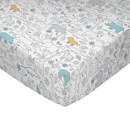 Lolli Living™ by Living Textiles Safari Lolli Fitted Crib Sheet