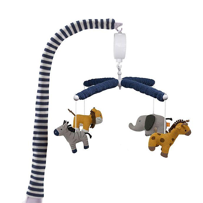 Alternate image 1 for Living Textiles lolli living Musical Safari Mobile
