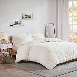 Intelligent Design Malea Shaggy Faux Fur Comforter Set