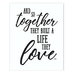 Courtside Market Together with Love Canvas Wall Art