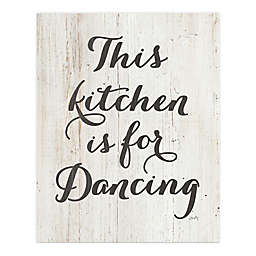 Courtside Market® This Kitchen is For Dancing Canvas Wall Art